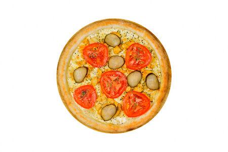 Пицца Венера на белом соусе
