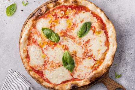 Пицца Маргарита бьянка