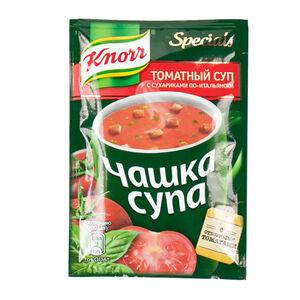 Knorr «Чашка супа» томат-сухарики