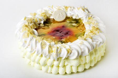 Торт Миндально-йогуртовый