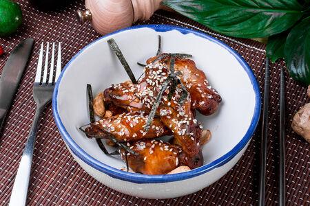 Крылья в азиатском барбекю