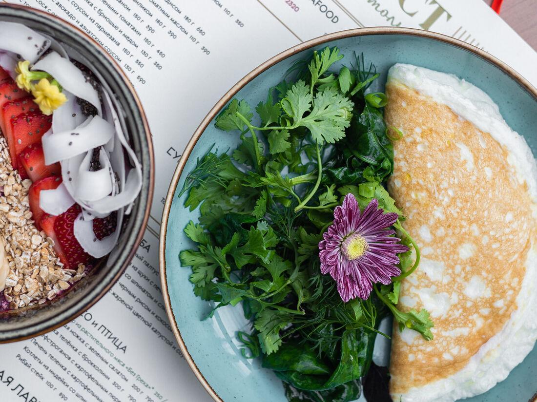 Benedict завтраки и не только