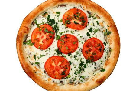 Пицца Альфредо с курицей и грибами