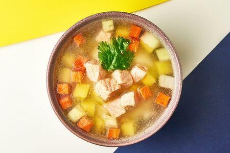 Суп Уха из семги