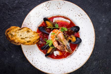 Острый рыбный суп по-сицилийски
