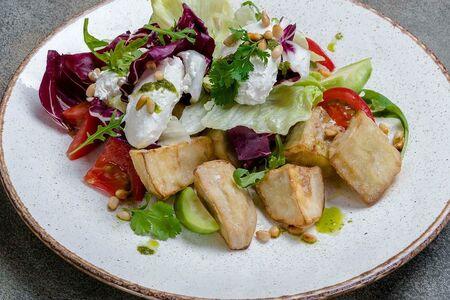 Салат из баклажана с сыром Сиртаки