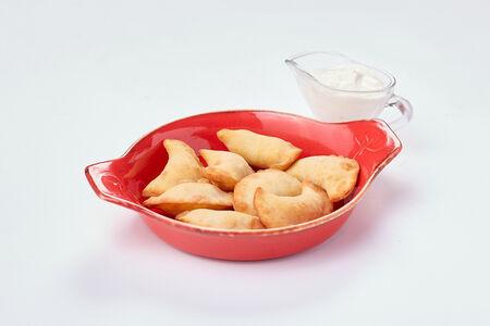 Жареные вареники с картофелем