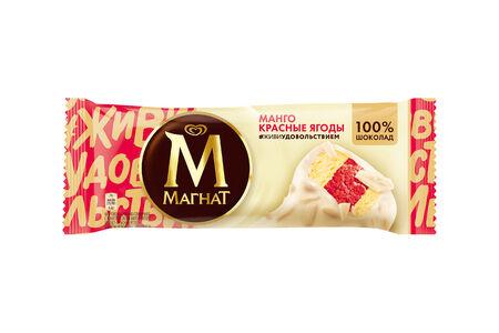 Эскимо Магнат Манго и красные ягоды