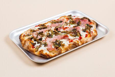 Пицца Окорок и грибы