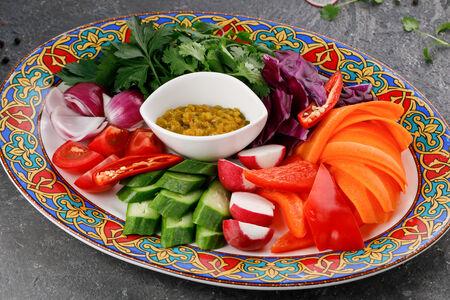Овощи от деда Акбара