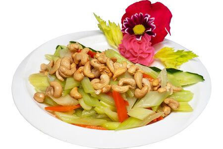 Салат из сельдерея с кешью