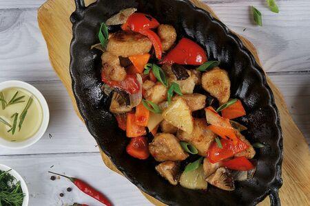 Индейка с овощами