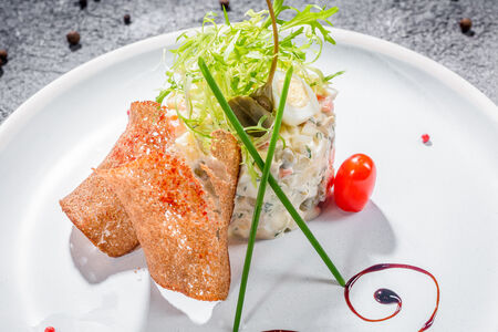 Салат Столичный с куриным филе