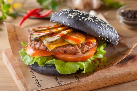 Бургер барбекю