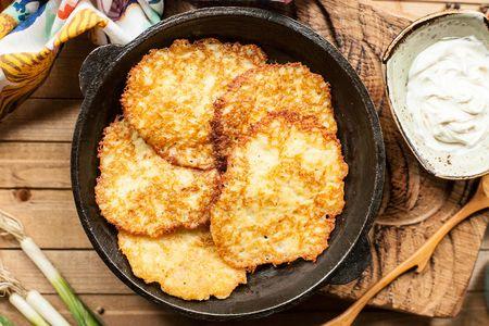 Деруны из картофеля