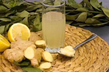 Лимонад имбирный с медом