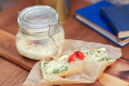 Сырный суп с колбасками