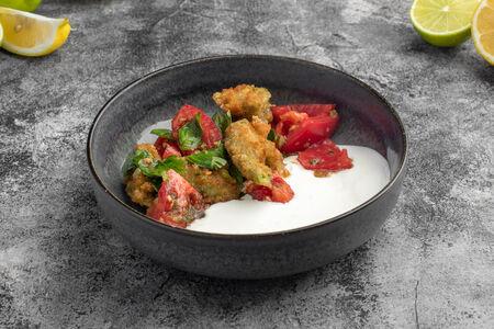 Салат Авокадо темпура