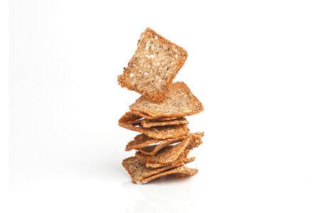 Бездрожжевые чипсы с чесноком