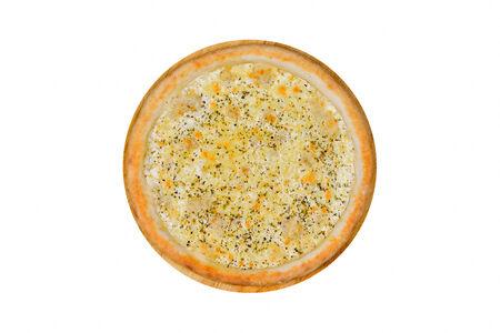 Пицца Маргарита на белом соусе
