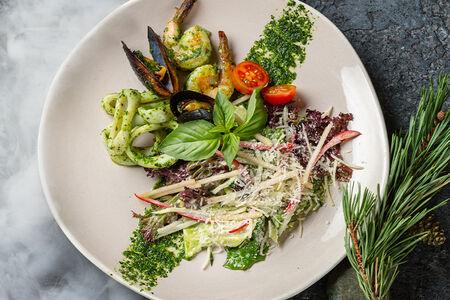 Скандинавский салат