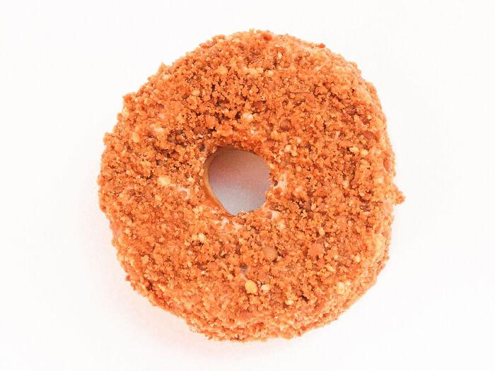 Пончик Морковь-кофейный крем