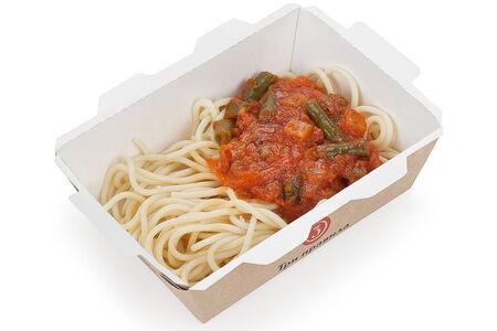 Спагетти с овощами по-итальянски