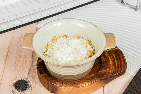 Рис с белыми грибами