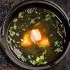 Фото к позиции меню Мисо-суп с семгой