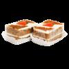 Фото к позиции меню Пирожное Carrot, Cream Royal
