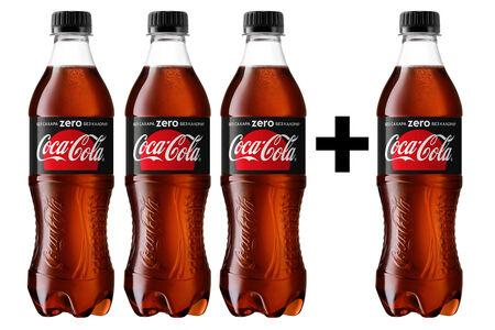 Coca Cola Zero 3+1
