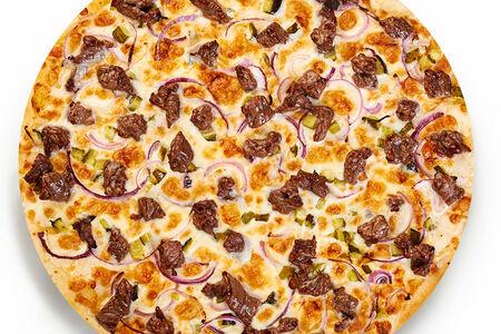 Пицца ГудБиф тонкое тесто