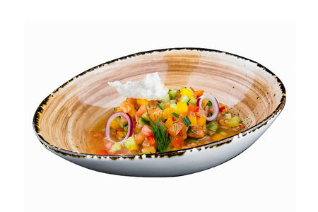 Севиче с лососем