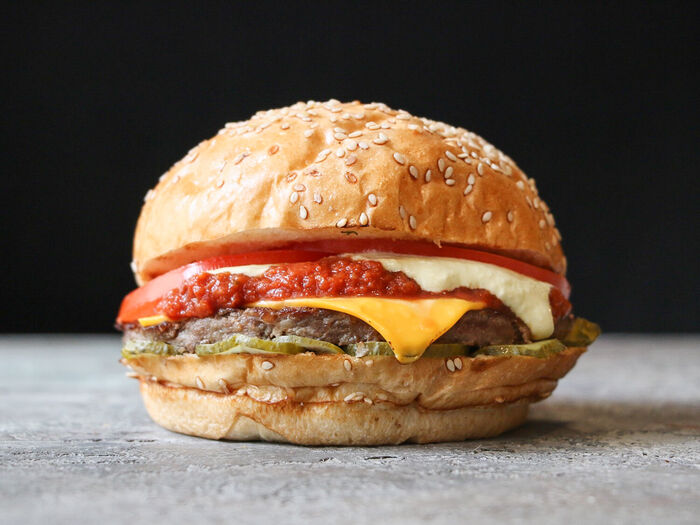 Нью Мехико бургер