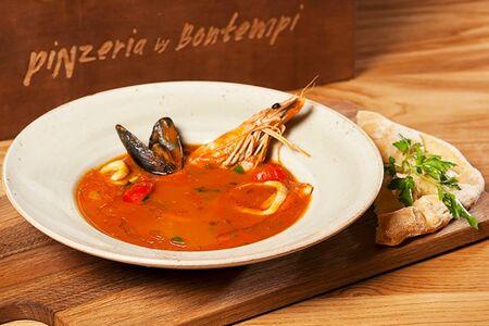 Сицилийская рыбная похлебка Каччукко