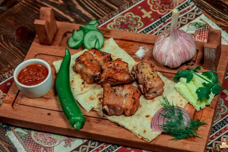 Шашлык из свинины по-кавказски