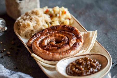 Колбаски острые по-балкански