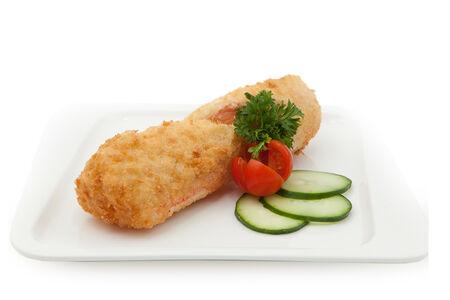 Рисовый блинчик с морепродуктами