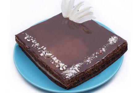Торт Шоколадно-банановый со сметанным кремом