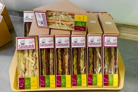 Сэндвич с семгой