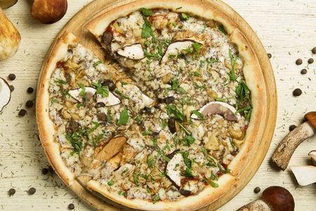 Пицца Лесные грибы большая