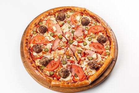 Пицца Русский бургер