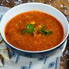 Фото к позиции меню Суп Чили кон карне с сырной кесадильей