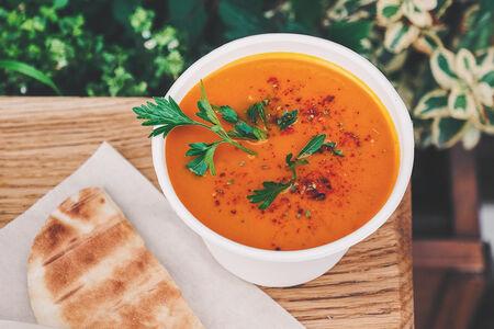 Суп из сезонных овощей