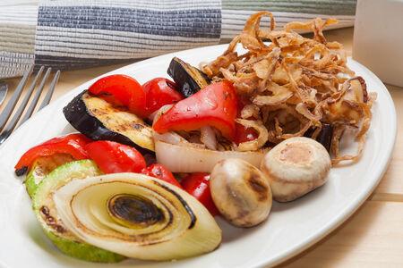 Ассорти из овощей на гриле