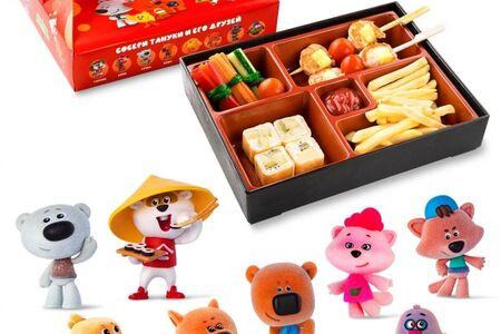 Kids Box с шашлычками из креветок и игрушкой в подарок