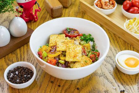 Рис веган с овощами