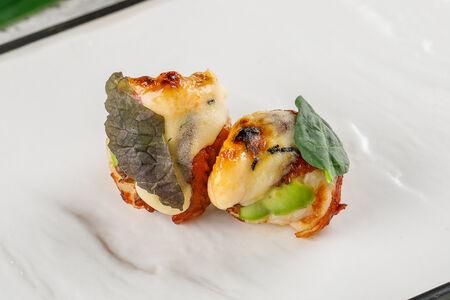 Темари-суши с угрем унаги