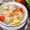 Фото к позиции меню Рыбный суп