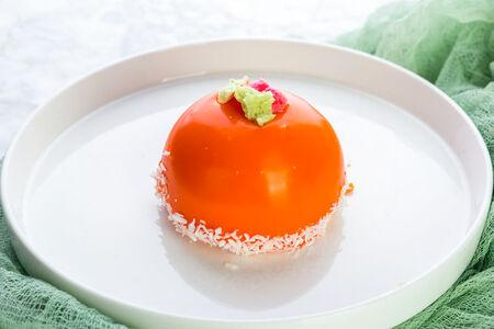 Мусс манго-маракуйя